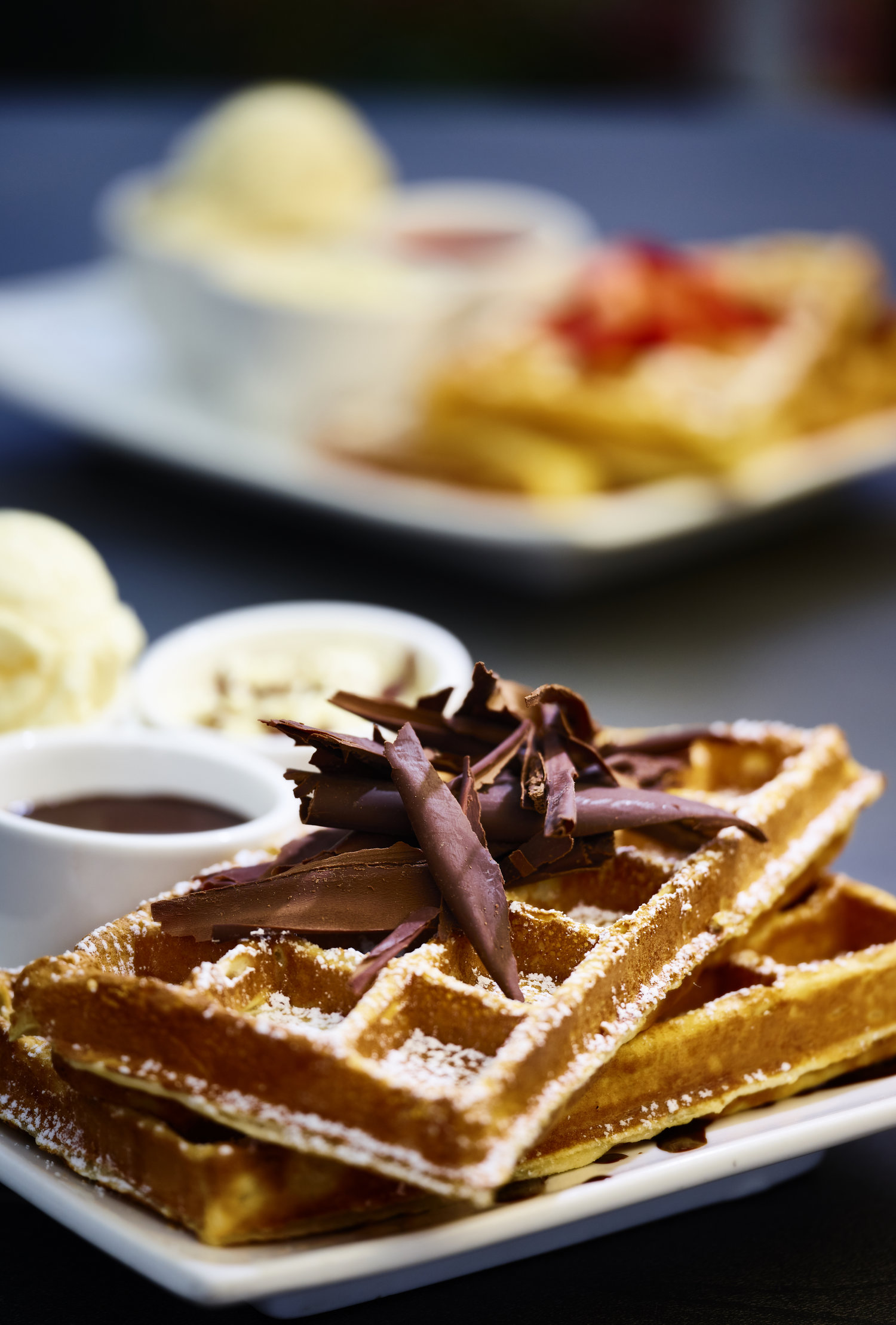 House of Anvers Cafe Waffles